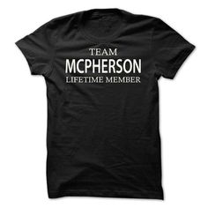 Team Mcpherson - #plaid shirt #tshirt headband. GUARANTEE => https://www.sunfrog.com/Names/Team-Mcpherson-tfnkw.html?68278