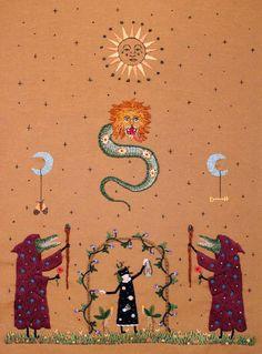 """Irem Yazici da IL RAMO D'ORO """"Ricamo come Arte Contemporanea - Embroidery as Contemporary Art"""" https://ilramodoro-katyasanna.blogspot.it/2013/03/ricamo-come-arte-contemporanea.html"""