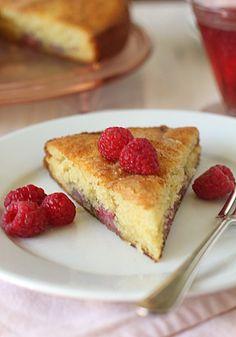 The Galley Gourmet: Raspberry Buttermilk Coffee Cake