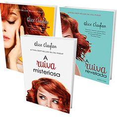 Kit Livros - Série A Ruiva (A Ruiva Misteriosa + A Ruiva Revelada + A Ruiva Popstar)
