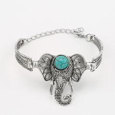 Hot Sale Elephant Bracelet for Women Vintage Bracelets & Bangles Men Bijoux Ethnic Bracelet Femme Accessoires Bracciali Pulseras