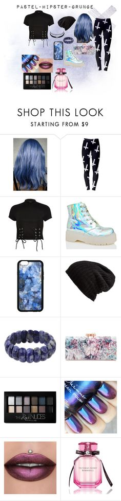 """""""aesthetic 1"""" by kandyi ❤ liked on Polyvore featuring River Island, Y.R.U., Free People, NOVICA, Ted Baker, Maybelline, Victoria's Secret, Charlotte Russe, Hipster and trash"""