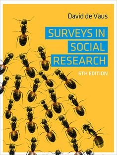 """Read """"Surveys in Social Research"""" by David de Vaus available from Rakuten Kobo. David de Vaus' classic text Surveys in Social Research provides clear advice on how to plan, conduct and analyse social . David, Social Research, Sociology, Book Publishing, How To Become, This Book, Ebooks, Knowledge, Author"""