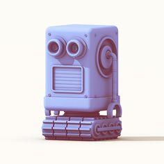 Boy-Bot Art Print