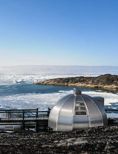 rent an igloo in greenland