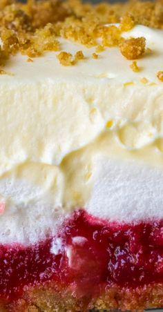 No better way to get your rhubarb fix. Rhubarb Desserts, Rhubarb Recipes, Sweet Desserts, Delicious Desserts, Yummy Food, Rhubarb Dishes, Rhubarb Bars, Dessert Drinks, Dessert Recipes