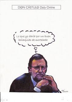Don Cástulo: Me se trabuca