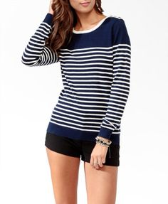 Colorblock Striped Sweater | FOREVER 21 - 2025102239