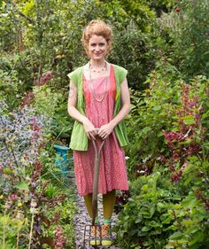 Here is Alys wearing gudrun sjoden. I have since ordered some of her designs too.......