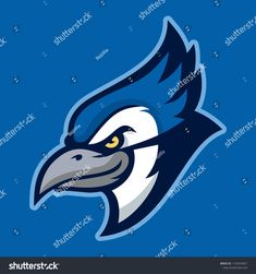 Find Vector Mascot Cartoon Illustration Blue Jay stock images in HD and millions of other royalty-free stock photos, illustrations and vectors in the Shutterstock collection. Thousands of new, high-quality pictures added every day. Blue Jay, Disney Characters, Fictional Characters, Royalty Free Stock Photos, Cartoon, Sport, Logo, Illustration, Artist