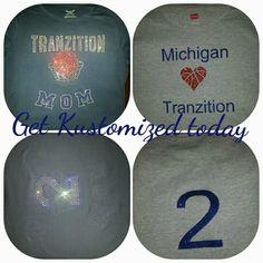 Custom shirts by Kendra Kustom prints