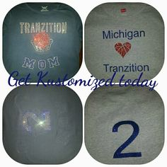 Custom shirts by Kendra Kustom prints