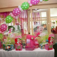 Strawberry Shortcake Baking Party 3rd Birthday, Birthday Ideas, Birthday Parties, Strawberry Shortcake Birthday, Baking Party, Canvas Pictures, Orange Blossom, Strawberries, Shower Ideas