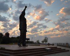 Madiba Sculpture.  Photograph by Emil Thompson