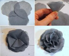 Easy baby shower gifts - 5 minutes seamless DIY headband tutorial flower for hadband flowers diy easy Cloth Flowers, Fabric Roses, Chiffon Flowers, Felt Flowers, Diy Flowers, Paper Flowers, Tulle Flowers, Headband Tutorial, Diy Headband
