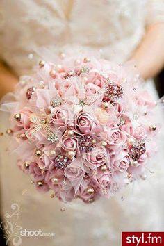 Bukiety ślubne Ślub Moda