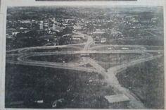 Trevo de acesso a cidade de Lajeado - Anos 70
