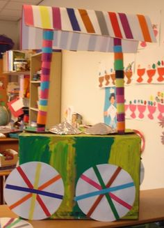 Summer Crafts, Crafts For Kids, Arts And Crafts, Diy Crafts, I Love School, Ice Cream Theme, Kindergarten Themes, Creative Artwork, Dramatic Play