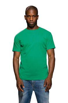 Heren t-shirt met ronde hals en korte mouwen    - 100% ringgesponnen gekamd katoen  - grammage: 150 g/m2  - single jersey  - alleen maatlabel in de nek  - de kleur Heather Grey is gemaakt van 90% katoen en 10% viscose  - ook verkrijgbaar in XXL (in beperkt aantal kleuren)  - de kleur Charcoal Grey Melange is gemaakt van 60% katoen en 40% viscose  - regular fit