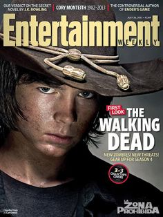 "Aug Walking Dead EW Cover | THE WALKING DEAD 4 Temporada ""Portadas de Rick, Daryl y Carl para ..."