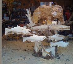 carving bear - Pesquisa Google