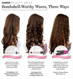 Bombshell waves, 3 different ways.