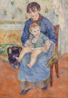 Renoir, joven madre