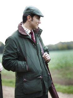 green #shooting jacket #Bestinthecountry