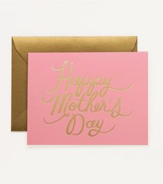 Pretty in Pink Mothers Day Card