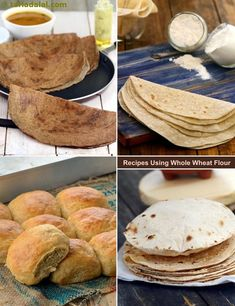 1180 whole wheat flour recipes Indian Bread Recipes, Chapati Recipes, Flour Recipes, Veg Recipes, Sweet Recipes, Indian Breads, Snack Recipes, Cooking Recipes, Bread Snacks Recipe