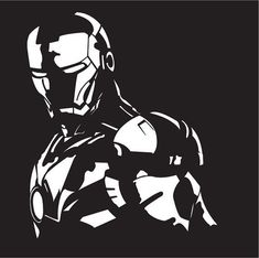 This is my first attempt at vector art using Adobe Illustrator As usual C&C welcome Thanks Ironman Vector drawing Iron Man Kunst, Iron Man Art, Easy Drawings Sketches, Art Drawings, Iron Man Drawing, Stencil Art, Joker Stencil, Stencils, Silhouette Art