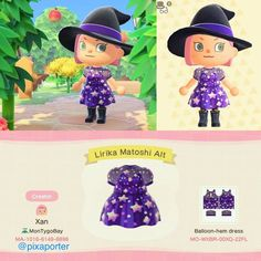 Violet dress with holographic stars🔮 (alternative version of the Lirika Matoshi dusky pink and gold starry dress) : ACQR