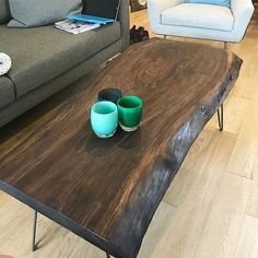 Custom, handcrafted, live edge tables from Seattle, WA.