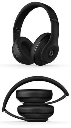 Beats Studio Wireless, Matte Black — I'm not really a Beats guy, but these look like good headphones.
