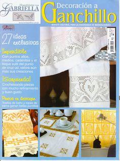 Decoracion a Ganchillo año 2 nro 12 - Maria E G - Picasa Web Albums #crochetmagazine