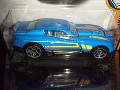 HOT WHEELS 2017  MUSCLE MANIA #10/10  D-MUSCLE   (BLUE) #HOT