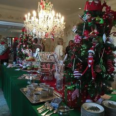 #BabyShower #LTheme #NowThisIsAParty #BeautifulTable #Entertaining #ChristmasTime #ElfMovie. Pictures cannot even do this justice but needless to say it was a magnificent table and this is just the dessert table fit for a queen!