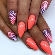 Best summer nails - 31 best summer nails for 2018 - hashtag nail art, . - Best summer nails – 31 best summer nails for 2018 – hashtag nail art, n - Summer Nails 2018, Bright Summer Nails, Cute Summer Nails, Cute Nails, Pretty Nails, My Nails, Nail Art Ideas For Summer, Best Nails, Summer Nail Art
