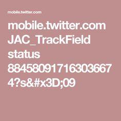 mobile.twitter.com JAC_TrackField status 884580917163036674?s=09