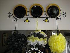 Bee baby shower