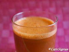 CafeSigrun | Carrot and Celery Juice