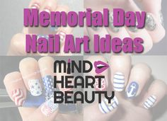 Memorial Day Nail Art Ideas