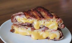 Bacon-wraped Cheese Toast.