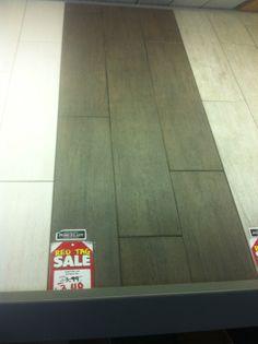 Kitchen or bathroom floor tile