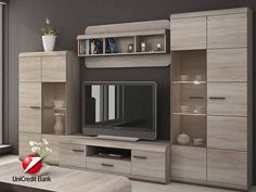 modular furniture for the home - bookcase ideas, bookcase design, bookcase clipart Tv Unit Decor, Tv Wall Decor, Living Room Bookcase, Living Room Cabinets, Tv Cabinet Design, Tv Wall Design, Tv Unit Furniture, Modular Furniture, Furniture Design