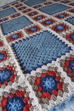 Resultado de imagem para crochet granny square
