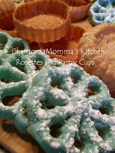 How about making up two delicious dishes using just one recipe? Cook up a batch of these pastry cups and rosettes, which always turn out light and crisp! They'll stay crispy longer, with th…