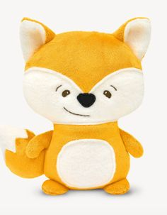 Cuddly toy fox for sewing - pattern and sewing instructions via Makerist. Animal Sewing Patterns, Felt Patterns, Stuffed Toys Patterns, Stuffed Animal Cat, Stuffed Animals, Squirrel, Hello Kitty, Fox, Etsy
