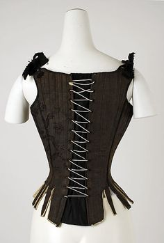Corset Date: 18th century Culture: American or European Medium: [no medium available] Dimensions: [no dimensions available] Credit Line: Gift of Mr. Lee Simonson, 1939 Accession Number: C.I.39.13.212