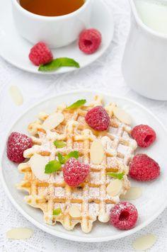 Tealightful Scone Mix Waffles Recipe